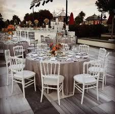 L'importance de louer des chaises pour son mariage
