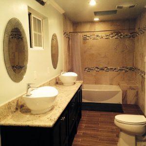 Carrelages salle de bain muraux et sol